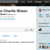 Record breaking Twitter account of Charlie Sheen