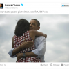 Obama's another prize: Most retweeted tweet ever