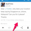 Mystery explained: Twitter's geo-location bug on Singapore