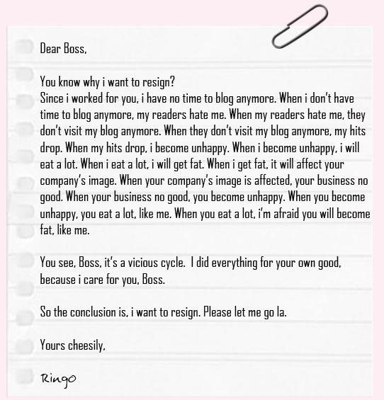 How to write a resignation letter to your boss romeondinez how altavistaventures Choice Image