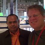 I met Scoble at the Nokia World 2008 in Barcelona, Spain