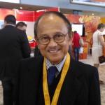Hari ini Pak Habibie ultah yang ke-76. Selamat ulang tahun Pak Habibie! #dwgmf
