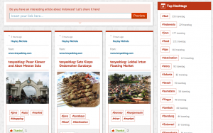 The Jakarta Post Travel adds new feature: Travelog