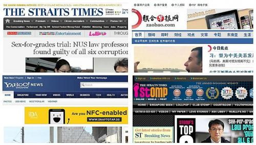 Singapore: 10 online news sites must follow traditional media regulations