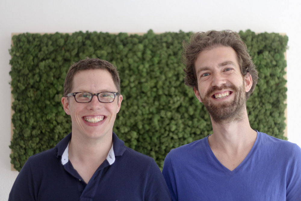 keezel co-founders Aike Müller and Friso Schmid