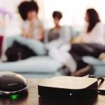 keezel with Apple Tv in living room.
