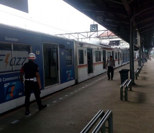 Tanah Abang Station, Central Jakarta