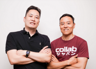 Collab Asia founders Eugene Choi and Allen Lee